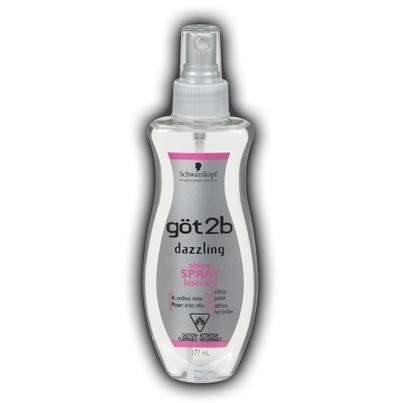 Schwarzkopf Got2b Dazzling Shine Spray 177 ML