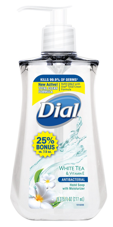 Dial White Tea And Vitamin E Antibacterial Hand Wash 277ML