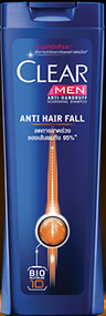 Clear Men Anti-Dandruff Anti Hair Fall Get Upto 95& Less Hair Fall Shampoo (Thailand)