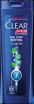 Clear Men Anti-Dandruff Cool Sport Menthol With Cooling Mint (Thailand)