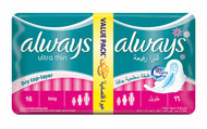 Always Pads Ultra Thin Long 16 buy online in Pakistan