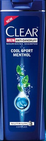 Clear Men Anti-Dandruff Cool Sport Menthol Shampoo (Pakistan)