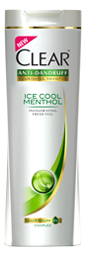 Clear Women Anti Dandruff Ice Cool Menthol With Cooling Mint Shampoo (Pakistan)