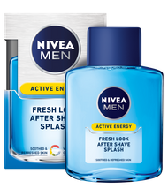 Nivea Men Active Energy Fresh Look After Shave Splash 100ML buy online in pakistan nivea men products