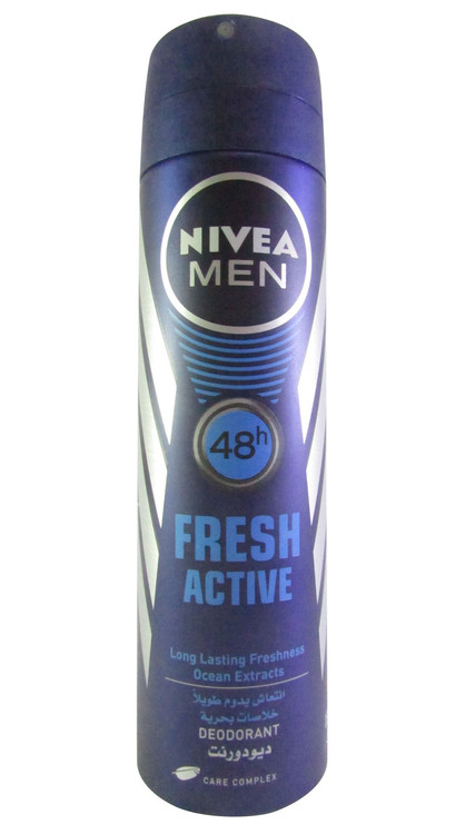 Nivea Men 48h Fresh Active Deodorant 150 ML