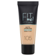Maybelline Fit Me Matte + Poreless Foundation 105 Natural