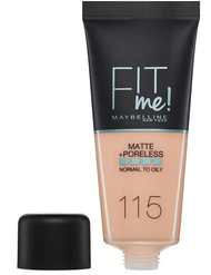 Maybelline Fit Me Matte & Poreless Foundation Ivory 115  Buy Online In Pakistan Best Price Original Product