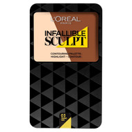 L'Oreal Paris Infallible Sculpting Palette 03 Medium