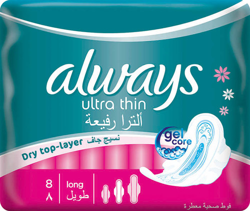 Always Pads Ultra Thin Long 8 buy online in Pakistan