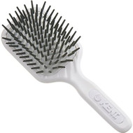 Kent Medium Fat Pin Brush White