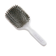 Kent AirHedz Medium Plastic Handle Brush White