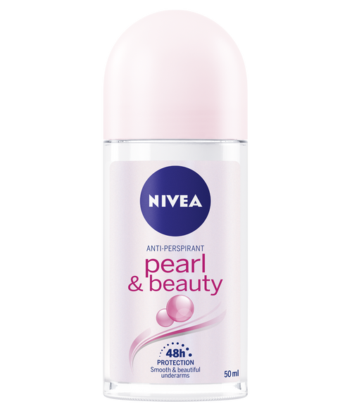 Nivea Pearl & Beauty Gentle Care 48h Roll-On Deodorant 50 ML Front