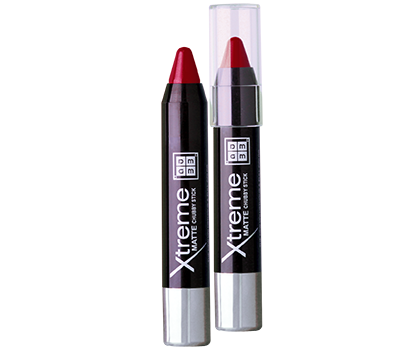 Dmgm Xtreme Matte Chubby Stick Hollywood Red CS12