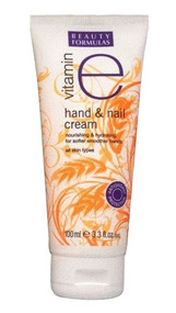 Beauty Formulas Hand & Nail Cream With Vitamin E 100ML