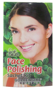 Golden Girl Soft Touch Face Polishing Sachet Kit (Front)