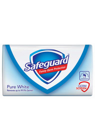 Safeguard Anti-Bacterial Pure White Bar Soap 115 Gram  buy online in pakistan best price original products