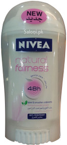 New Nivea Natural Fairness 48h Deodorant 40 ML Front