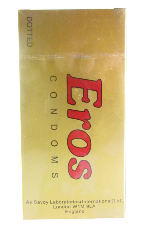 Eros Condom Dotted (Front)