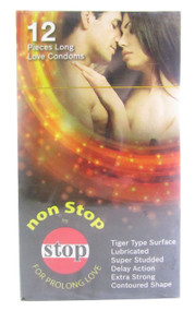 Non-Stop Long Love Condom 12 Pieces (Front0