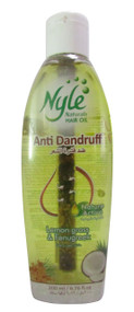 Nyle Anti-Dandruff Naturals Hair Oil Lemon Grass & Fenugreek 200 ML(Front)