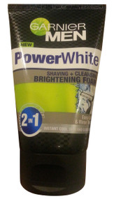 Garnier Men Power White Shaving+Cleansing Brightening Foam 100ML