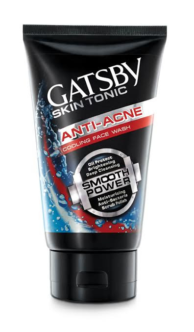 Gatsby Skin Tonic Anti Acne Cooling Face Wash 120g buy online in pakistan best price original product