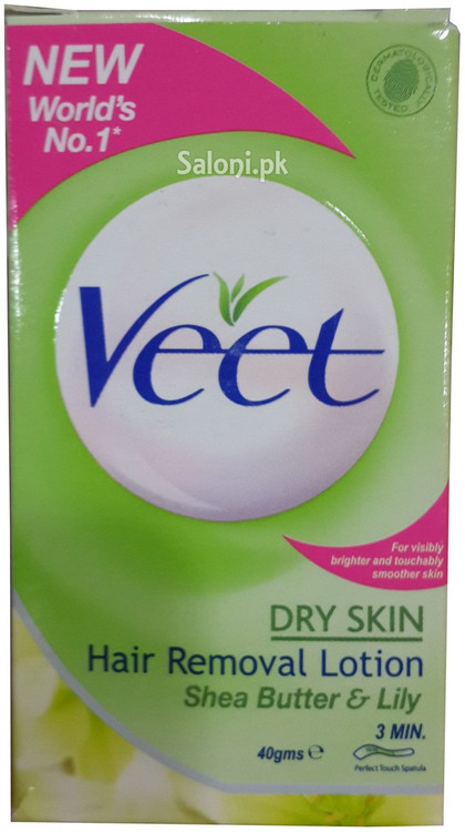 Veet Hair Removal Lotion For Dry Skin Front