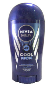 Nivea For Men 48h Cool Kick Deodorant Stick 40 ML