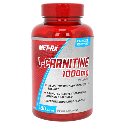 Met-Rx L-Carnitine 1000MG (180 Caplets Capsules)