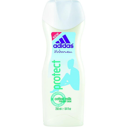 Adidas for Women Protect Cotton Milk Extra Hydrating Shower Milk 8.4OZ