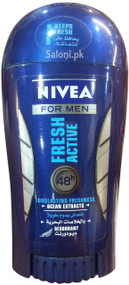 Nivea For Men Fresh Active 48h Longlasting Freshness Deodorant 40 ML Front