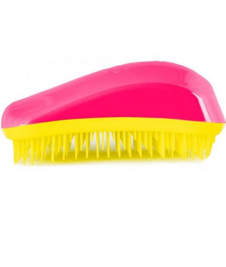 Dessata Orignal Hair Brush Fuchsia-Yellow