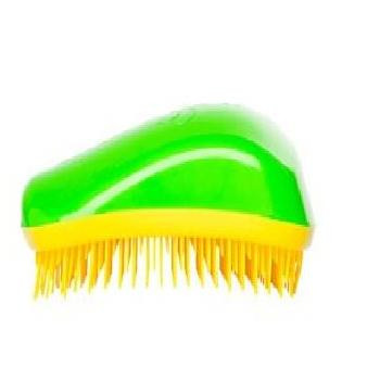 Dessata Orignal Hair Brush Green -Yellow