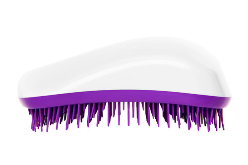 Dessata Orignal Hair Brush White-Purple