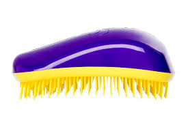 Dessata Orignal Hair Brush Purple-Yellow