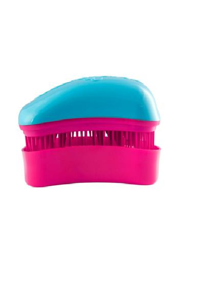 Dessata Mini Hair Brush Mini Turquoise- Fuchsia