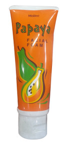 Mistine Papaya Facial Foam(Front)