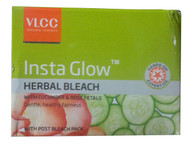 VLCC Insta Glow Herbal Bleach With Cucumber & Rose Petals