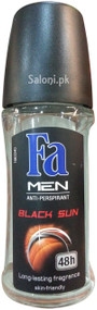 Fa Men Black Sun Deodorant Roll On 48h Front