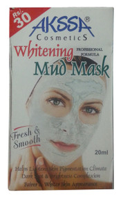 Akssa Whitening Mud Mask 20 ML(front)