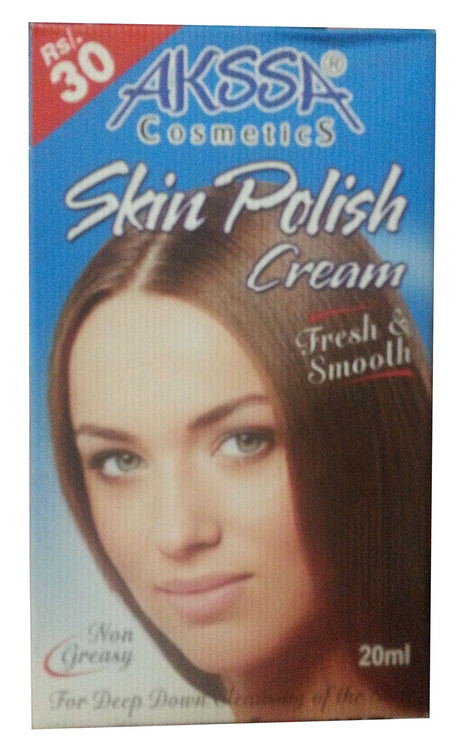 Akssa Skin polish Cream 20 ML (front)