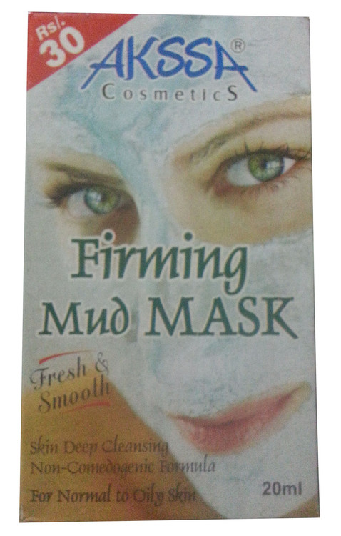 Akssa Cosmetic Firming Mud Mask 20 ML (Front)