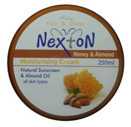 Nexton Honey & Almond Moisturizing Cream 250 ML (Front)