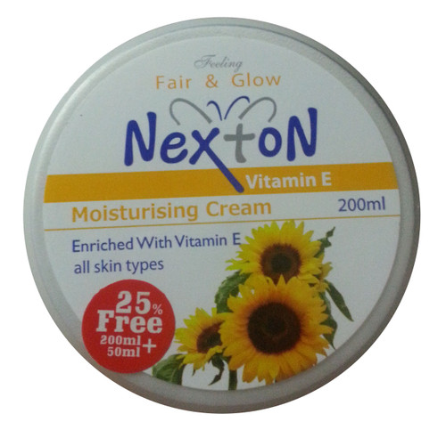 Nexton Vitamin- E Moisturizing Cream 200 ML(front)