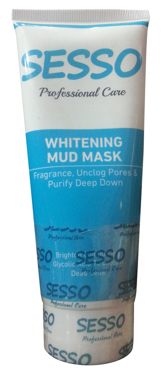 Sesso Professional Care Whitening Mud Mask 150 ML