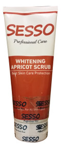 Sesso Professional Whitening Apricot Scrub 150 ML  buy online in pakistan
