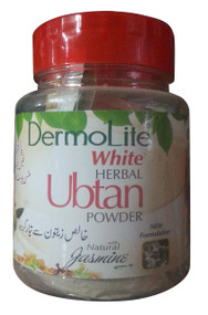 Dermo Lite White Herbal Ubtan Powder Natural Jasmine 100 Gram (front)