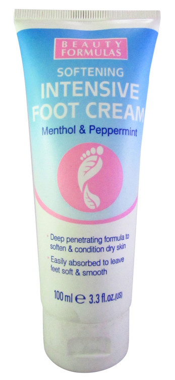Beauty Formulas Intensive Softening Foot Cream 100ML