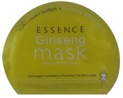 Essence Ginseng Mask Natural Silk Mask Towel 25g