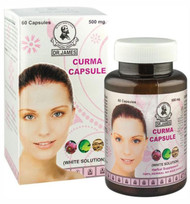 Dr James Herbal Supplement White Solution Curma 500 MG (60 Capsules ) Buy online in Pakistan on Saloni.pk